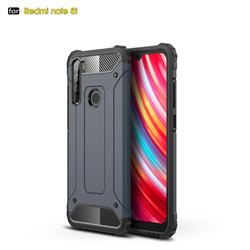 King Kong Armor Premium Shockproof Dual Layer Rugged Hard Cover for Mi Xiaomi Redmi Note 8T - Navy