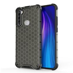 Honeycomb TPU + PC Hybrid Armor Shockproof Case Cover for Mi Xiaomi Redmi Note 8T - Gray
