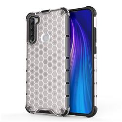 Honeycomb TPU + PC Hybrid Armor Shockproof Case Cover for Mi Xiaomi Redmi Note 8T - Transparent