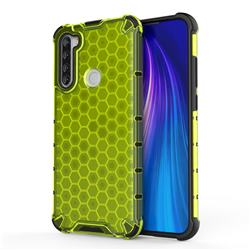 Honeycomb TPU + PC Hybrid Armor Shockproof Case Cover for Mi Xiaomi Redmi Note 8T - Green