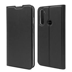 Ultra Slim Card Magnetic Automatic Suction Leather Wallet Case for Mi Xiaomi Redmi Note 8T - Star Grey