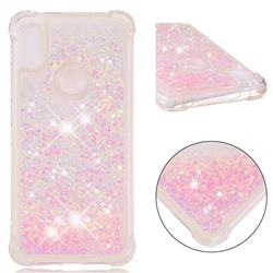 Dynamic Liquid Glitter Sand Quicksand TPU Case for Mi Xiaomi Redmi S2 (Redmi Y2) - Silver Powder Star