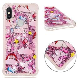 Angel Pony Dynamic Liquid Glitter Sand Quicksand Star TPU Case for Mi Xiaomi Redmi S2 (Redmi Y2)