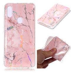Powder Pink Marble Pattern Bright Color Laser Soft TPU Case for Mi Xiaomi Redmi S2 (Redmi Y2)
