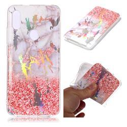 Powder Sandstone Marble Pattern Bright Color Laser Soft TPU Case for Mi Xiaomi Redmi S2 (Redmi Y2)