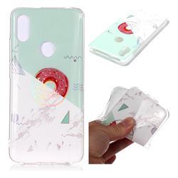 Donuts Marble Pattern Bright Color Laser Soft TPU Case for Mi Xiaomi Redmi S2 (Redmi Y2)