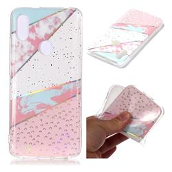 Matching Color Marble Pattern Bright Color Laser Soft TPU Case for Mi Xiaomi Redmi S2 (Redmi Y2)