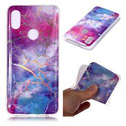 Dream Sky Marble Pattern Bright Color Laser Soft TPU Case for Mi Xiaomi Redmi S2 (Redmi Y2)
