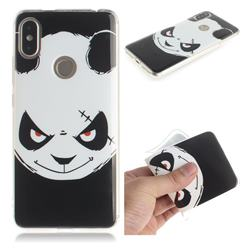 Angry Bear IMD Soft TPU Cell Phone Back Cover for Mi Xiaomi Redmi S2 (Redmi Y2)