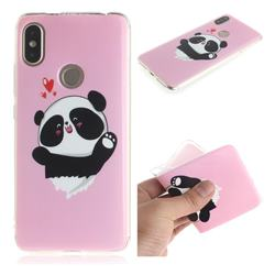 Heart Cat IMD Soft TPU Cell Phone Back Cover for Mi Xiaomi Redmi S2 (Redmi Y2)