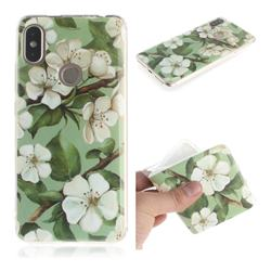 Watercolor Flower IMD Soft TPU Cell Phone Back Cover for Mi Xiaomi Redmi S2 (Redmi Y2)