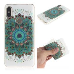 Peacock Mandala IMD Soft TPU Cell Phone Back Cover for Mi Xiaomi Redmi S2 (Redmi Y2)