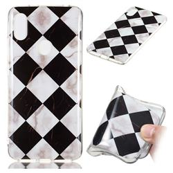 Black and White Matching Soft TPU Marble Pattern Phone Case for Mi Xiaomi Redmi S2 (Redmi Y2)