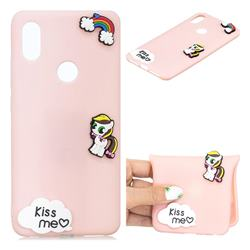 Kiss me Pony Soft 3D Silicone Case for Mi Xiaomi Redmi S2 (Redmi Y2)