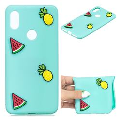 Watermelon Pineapple Soft 3D Silicone Case for Mi Xiaomi Redmi S2 (Redmi Y2)