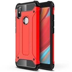 King Kong Armor Premium Shockproof Dual Layer Rugged Hard Cover for Mi Xiaomi Redmi S2 (Redmi Y2) - Big Red
