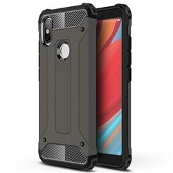 King Kong Armor Premium Shockproof Dual Layer Rugged Hard Cover for Mi Xiaomi Redmi S2 (Redmi Y2) - Bronze