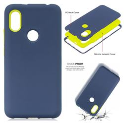 premium selection a2d49 956a3 Matte PC + Silicone Shockproof Phone Back Cover Case for Mi Xiaomi ...