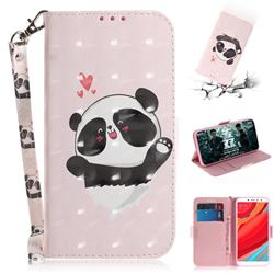 Heart Cat 3D Painted Leather Wallet Phone Case for Mi Xiaomi Redmi S2 (Redmi Y2)