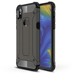 King Kong Armor Premium Shockproof Dual Layer Rugged Hard Cover for Xiaomi Mi Mix 3 - Bronze