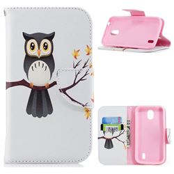 Owl on Tree Leather Wallet Case for Nokia 1