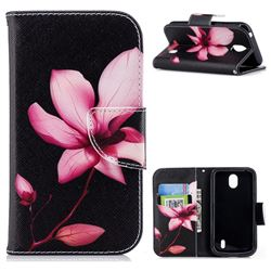 Lotus Flower Leather Wallet Case for Nokia 1