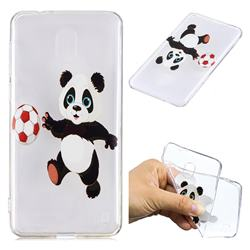 Football Panda Super Clear Soft TPU Back Cover for Nokia 2