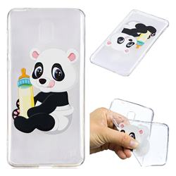 Baby Panda Super Clear Soft TPU Back Cover for Nokia 2