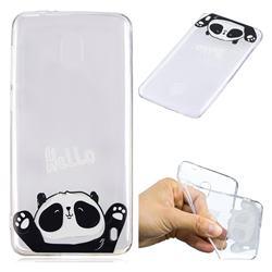 Hello Panda Super Clear Soft TPU Back Cover for Nokia 2