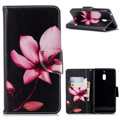 Lotus Flower Leather Wallet Case for Nokia 2.1