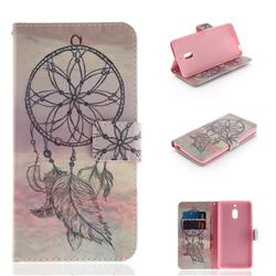 Dream Catcher PU Leather Wallet Case for Nokia 2.1