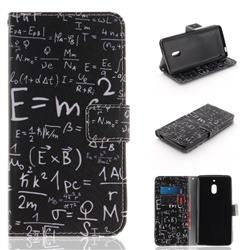 Formula PU Leather Wallet Case for Nokia 2.1