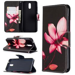 Lotus Flower Leather Wallet Case for Nokia 2.3