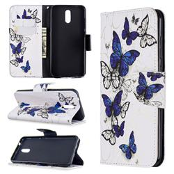 Flying Butterflies Leather Wallet Case for Nokia 2.3