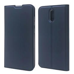 Ultra Slim Card Magnetic Automatic Suction Leather Wallet Case for Nokia 2.3 - Royal Blue