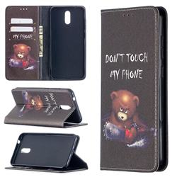 Chainsaw Bear Slim Magnetic Attraction Wallet Flip Cover for Nokia 2.3