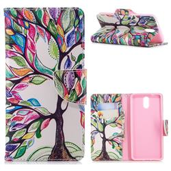 The Tree of Life Leather Wallet Case for Nokia 3.1