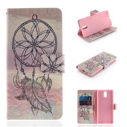 Dream Catcher PU Leather Wallet Case for Nokia 3.1