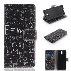 Formula PU Leather Wallet Case for Nokia 3.1