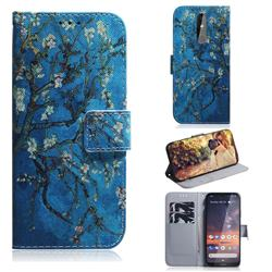 Apricot Tree PU Leather Wallet Case for Nokia 3.2