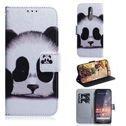 Sleeping Panda PU Leather Wallet Case for Nokia 3.2