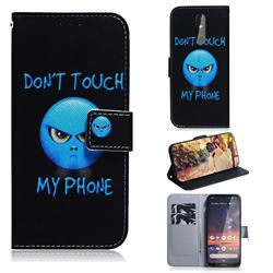 Not Touch My Phone PU Leather Wallet Case for Nokia 3.2