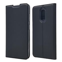 Ultra Slim Card Magnetic Automatic Suction Leather Wallet Case for Nokia 3.2 - Star Grey