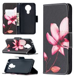 Lotus Flower Leather Wallet Case for Nokia 3.4