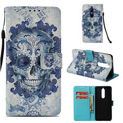 Cloud Kito 3D Painted Leather Wallet Case for Nokia 5.1