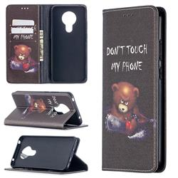 Chainsaw Bear Slim Magnetic Attraction Wallet Flip Cover for Nokia 5.3