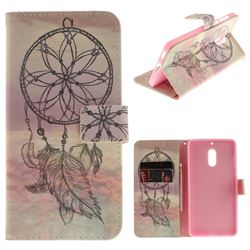 Dream Catcher PU Leather Wallet Case for Nokia 6 Nokia6