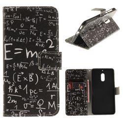 Formula PU Leather Wallet Case for Nokia 6 Nokia6