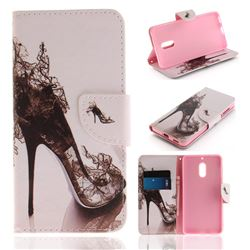 High Heels PU Leather Wallet Case for Nokia 6 Nokia6