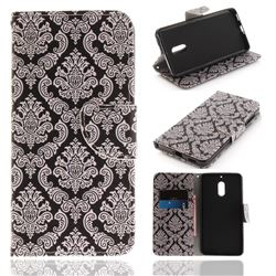Totem Flowers PU Leather Wallet Case for Nokia 6 Nokia6